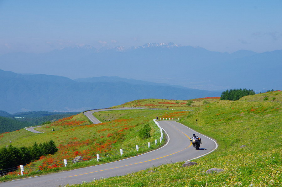 Venus Line Nagano Most Scenic Motorcycle Riding Road in Japan