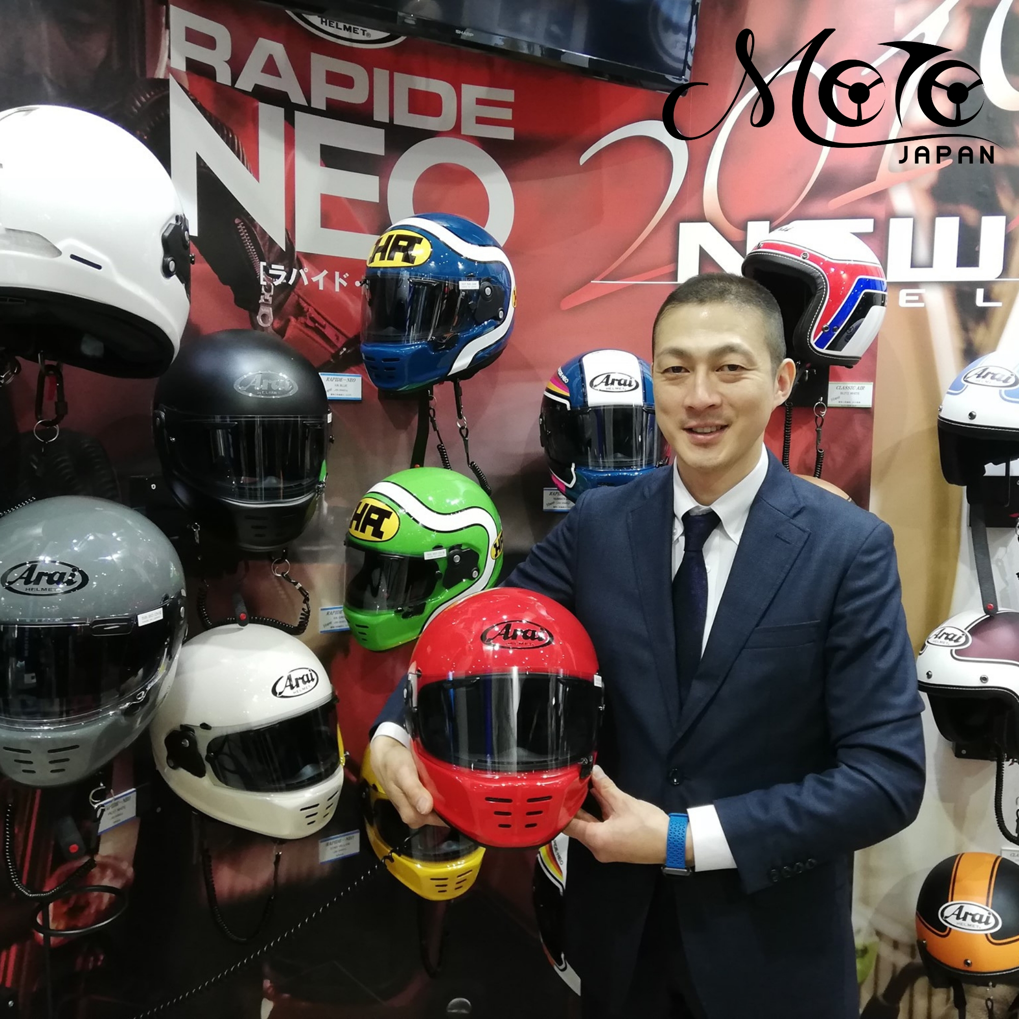 Arai Helmets explained by Arai Akihito